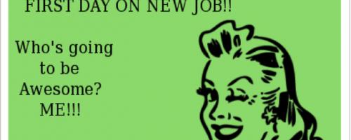Prvý deň v novej práci nemusí byť stresujúci.